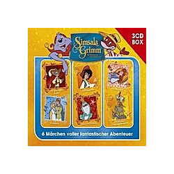 SimsalaGrimm 3-CD Hörspielbox