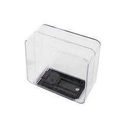 HMF Spardose Spardose 47880, Acryl Spendenbox, 14 x 14 x 6,5 cm