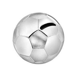 ZILVERSTAD Spardose Fußball