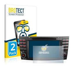 2x BROTECT® HD-Clear Displayschutzfolie für Xomax XM 02Z