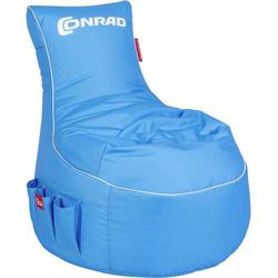 283394 Gaming Sitzsack Blau, Weiß