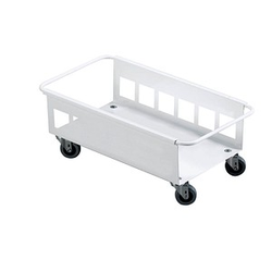 DURABLE Transportroller Durabin Trolley 60 weiß 26,0 x 47,0 cm bis 60,0 kg