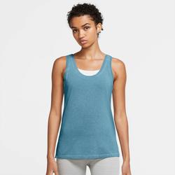 Nike Yogatop Yoga Dri-fit Women's Tank blau Damen Bekleidung