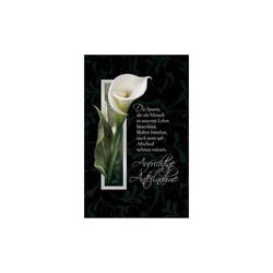 SUSY CARD Trauerkarte Calla 2 (40017846)