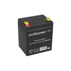Multipower Multipower Blei-Akku MP4,5-12 Pb 12V / 4,5Ah Bleiakkus