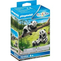 Playmobil Family Fun 2 Pandas mit Baby