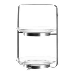 LEONARDO Etagere Senso Ø 21 cm, Glas