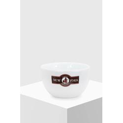 New York Milchkaffeetasse weiß