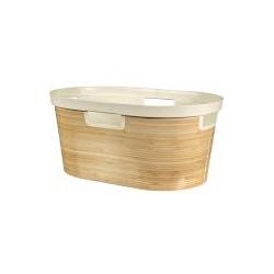 Curver INFINITY Wäschekorb 40L Bambus