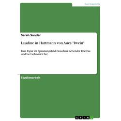 Laudine in Hartmann von Aues Iwein als Buch von Sarah Sander