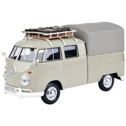 VW T1 beige mit Dachträger & Gepäck