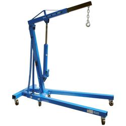 GÜDE Werkstattkran 2000 kg, zerlegbar blau