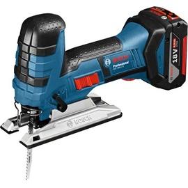 Bosch GST 18 V-LI S Professional inkl. 2 x 5,0 Ah + L-Boxx (06015A5104)
