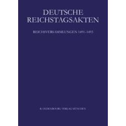 Reichsversammlungen 1491-1493 als Buch von