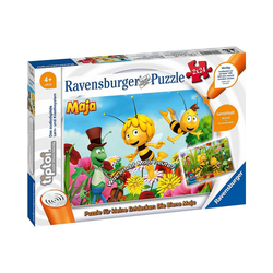 Ravensburger Puzzle tiptoi® Puzzle für kleine Entdecker: Biene Maja, Puzzleteile