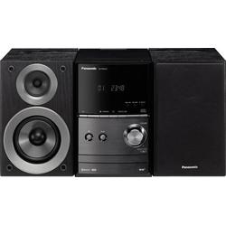 Panasonic SC-PM602EG-K Stereoanlage Bluetooth®, DAB+, CD, UKW, USB, 2 x 20W Schwarz