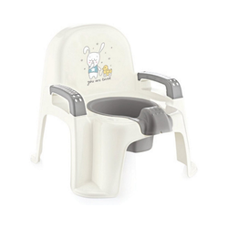 Babyjem Töpfchen Baby Toilettentrainer - Töpfchen, pink weiß
