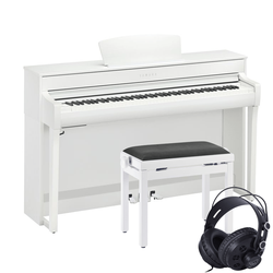 Yamaha CLP-735 Weiß Set
