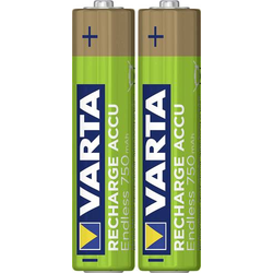 Varta Endless Ready to Use Micro (AAA)-Akku NiMH 750 mAh 1.2V 2St.