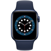 Apple Watch Series 6 GPS 40 mm Aluminiumgehäuse blau, Sportarmband dunkelmarine
