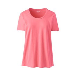 Shirt aus Leinenmix, Damen, Größe: XS Normal, Rot, by Lands' End, Rote Rose - XS - Rote Rose