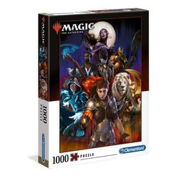 Clementoni® Puzzle 39563 Magic The Gathering 1000 Teile Puzzle, 1000 Puzzleteile bunt