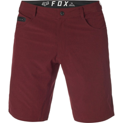 Shorts FOX - machete tech short heather red (383)