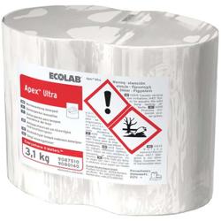 ECOLAB Apex Ultra Spülmittel, Hochkonzentriertes Maschinenspülmittel in Blockform, 1 Karton = 4 x 3,1 kg - Blöcke