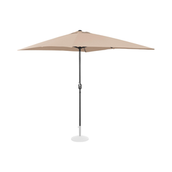 Sonnenschirm groß - creme - rechteckig - 200 x 300 cm