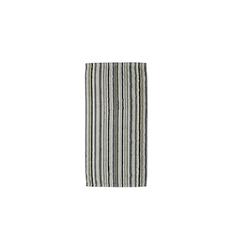 Cawö Handtuch Lifestyle Streifen in kiesel, 50 x 100 cm