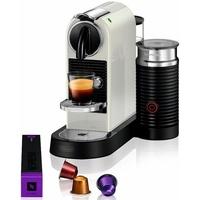 Nespresso Kapselmaschine NESPRESSO CITIZ EN 267.WAE, mit Aeroccino Milchaufschäumer weiß