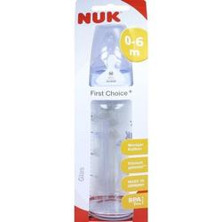 NUK FC+ Glasflasche Si 1M 240ml