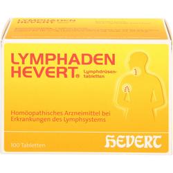 LYMPHADEN HEVERT Lymphdrüsen Tabletten 100 St.