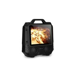 Auna CenterStage 4 mobiler Karaoke-Lautsprecher, 30 W, 14,1