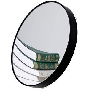 FYSL 1PCS 10X Vergrößerungsspiegel Runder Schminkspiegel Vergrößerungsspiegel mit Saugnäpfen für Make-up, Rasur, Pinzette, Mitesser / Schönheitsfehler (schwarz)