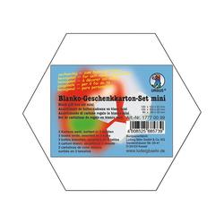URSUS Aufbewahrungsbox Geschenkkarton 6 eckig 3er Set, weiß