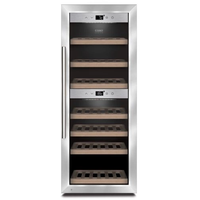 CASO DESIGN WineComfort 380 Smart Weintemperierschrank Edelstahl