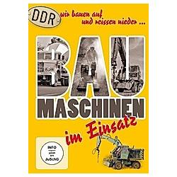 DDR Baumaschinen im Einsatz - DVD  Filme
