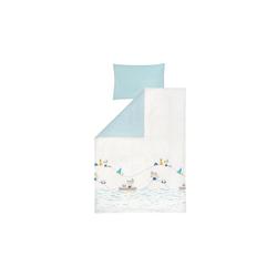 Julius Zoellner Bettwäsche in weiß mit Muster Indianerfreunde, 100 x 135 cm