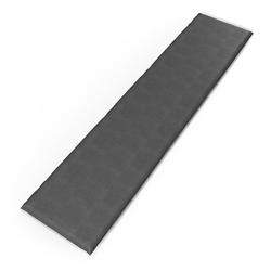 Vicco Bankauflage 180x40x5cm Bankpolster Gartenbank-Auflage Sitzpolster Auflage grau 180 cm