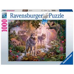 Ravensburger Wolfsfamilie im Sommer Puzzle 1000 Teile