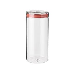 Stelton Aufbewahrungsbox RIG-TIG Aufbewahrungsglas STORE-IT 1.5 l, Glas, Silikon