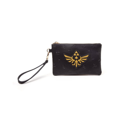 Nintendo Geldbörse Zelda - Golden Tri-Force Logo Pouch Wallet GELDBÖRSE NEU
