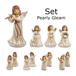 Goebel Engelfigur Engelfiguren-Set 12-tlg. Pearly Gleam 2019