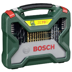 Bosch X-Line Titanium Bohrer und Schrauber Set 70 tlg.