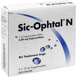 SIC OPHTAL N Augentropfen 30 ml