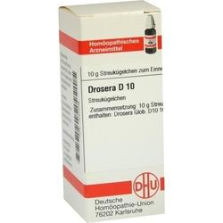 DROSERA D 10 Globuli 10 g