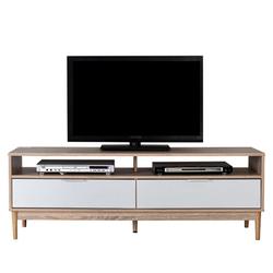 style home TV-Board, Fernsehschrank Fernsehtisch TV Tisch Wohnzimmer Holz Weiß