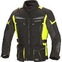 Büse Lago Pro Motorrad Textiljacke, schwarz-gelb, Größe M