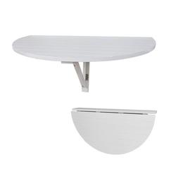 SoBuy Klapptisch FWT10, Wandklapptisch Küchentisch Esstisch Kindermöbel Weiß